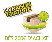 Livraison gratuite à partir de 200€