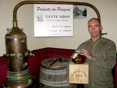 Stéphane Glinel a racheté la plus ancienne distillerie sarladaise